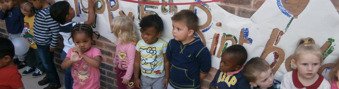 Nursery Children Celebrate 5th Birthday